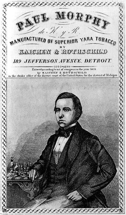 Paul Morphy 1859